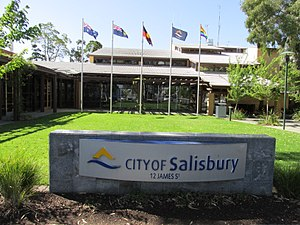 Salisbury, South Australia - City of Salisbury council chambers