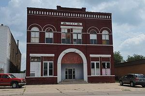 National Register of Historic Places listings in Monona County, Iowa - Image: ONAWA IOOF OPERA HOUSE, MONONA COUNTY, IOWA