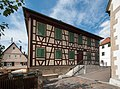 Obere Gasse 15, Altes Schulhaus, Südostfassade.jpg
