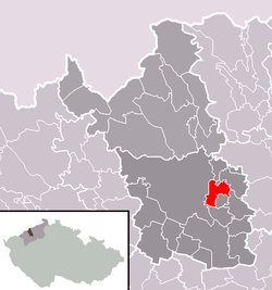 Location in موست بؤلگه‌سی‌