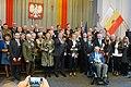 Odznaczeni Odznaką Za Zasługi dla m Łodzi zdjęcie rodzinne 2018 fot M Z Wojalski DSC07200.jpg