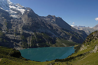 Oeschinen Lake - Image: Oeschinensee