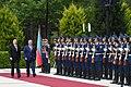 Official welcoming ceremony held for Moldovan president Igor Dodon 8.jpg