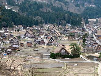 Historic Villages of Shirakawa-gō and Gokayama - Ogimachi Village