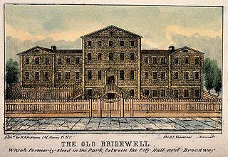 Bridewell (New York City jail) Municipal prison in New York City
