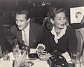 Oleg Cassini and Gene Tierney at the Stork Club.jpg