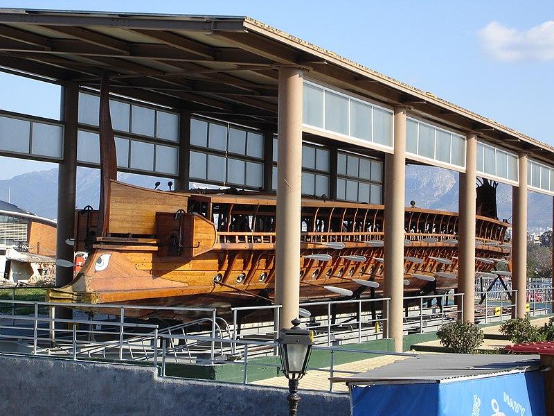Olympias - Hangar full view