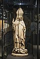 Once painted birch sculpture of Bishop Henry on Lalli from Asikkala church, 15th century.jpg