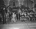 Ontvangst op stadhuis, toespraak Pierre de Gaulle (president conseil municipale), Bestanddeelnr 903-9801.jpg