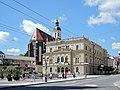 Opava, Horní náměstí, divadlo a konkatedrála, 01.jpg