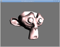 OpenGL Tutorial Suzanne rotating.png