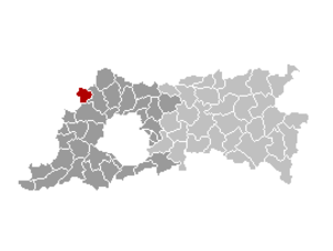 Opwijk - Image: Opwijk Locatie