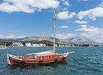 Orange boat Eretria Euboea Greece.jpg