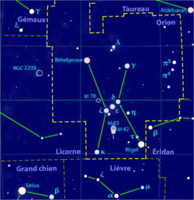 Image illustrative de l'article Orion (constellation)