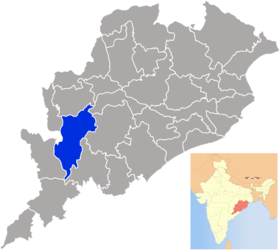 Localisation de District de Kalahandi