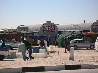 Oshana Region - Image: Oshakati street market