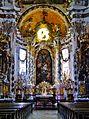 Osterhofen Basilika St. Margareta Innen Chor 1.JPG