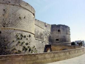 Otranto Şehrinin Kalesi
