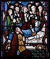 Our Lady's Island Church of the Assumption East Aisle Window Dormition of Virgin Mary 2010 09 26.jpg