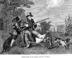 Coupé à la chasse datant du Royaume-Uni