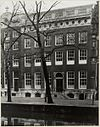 overzicht gevel grachtenhuis - amsterdam - 20322174 - rce