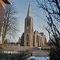 Overzicht van de zuid-westgevel met kerktoren - Heeten - 20381138 - RCE.jpg