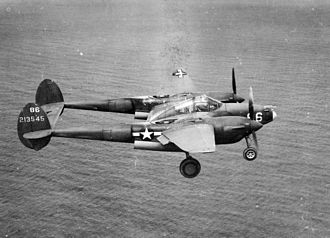 343d Wing - 54th Fighter Squadron P-38