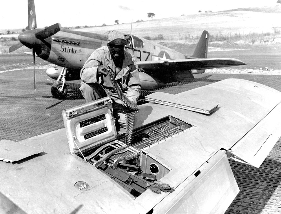 P-51B 100FS 332FG Italy 1944