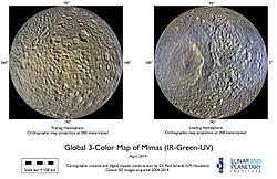 Mimas (moon) - Wikipedia