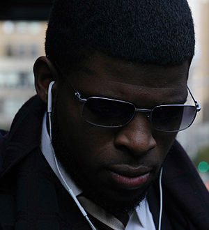 P. K. Subban - Subban signing autographs in 2013