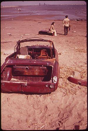 Plumb Beach, Brooklyn - Plumb Beach in 1973