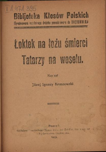 File:PL Józef Ignacy Kraszewski-Łoktek na łożu śmierci.djvu