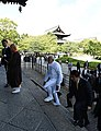 PM Modi visits ancient Toji Temple at Kyoto with Japanese PM Shinzo Abe.jpg