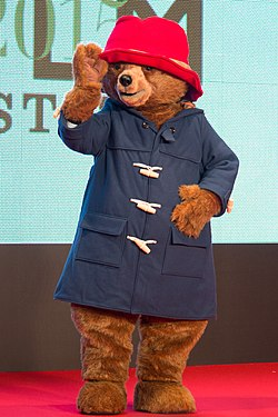 "Paddington ""Paddington"" at Opening Ceremony of the 28th Tokyo International Film Festival (22241813459) (cropped)"