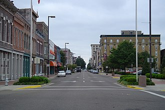 Paducah, Kentucky - Broadway downtown