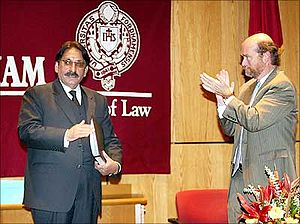 Iftikhar Muhammad Chaudhry - Image: Pakistan CJ in New York