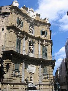 I Quattro Canti, Palermo, 1610