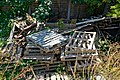 Pallet dump at Shoreham-by-Sea Riverside Moorings, West Sussex, England.jpg