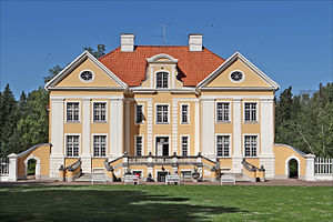 Architecture of Estonia - Palmse manor