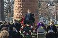Pan Am Flight 103 Memorial Ceremony - head of the Flight 103 Memorial Committee delivers speech (15887415459).jpg