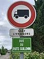 Panneau B8 Plaque rue Puits Guillemin Replonges 2.jpg