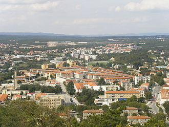 Labin - View over the town