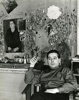 Bruno Cassinari - Bruno Cassinari in 1958, photo by Paolo Monti (Fondo Paolo Monti, BEIC).