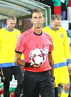 Italian football referee