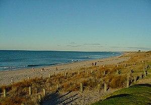 Papamoa - Image: Papamoa Beach 2