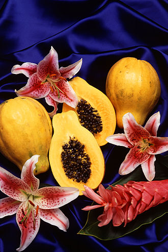 Papaya - Papayas with yellow flesh