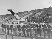 Parallel bars during 1904 Summer Olympics