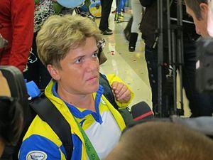 Lidiia Soloviova - Image: Paralympic 2016 ua 99