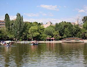 Victory Park, Yerevan - Image: Parc victoire 1