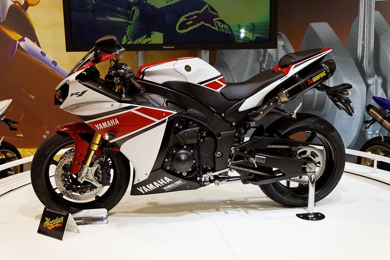 Yamaha R1 2011 White